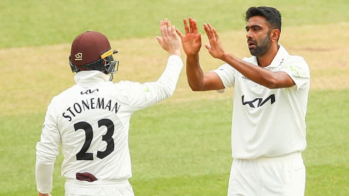 VIDEO - R Ashwin clinched 6 wickets against Somerset in county game