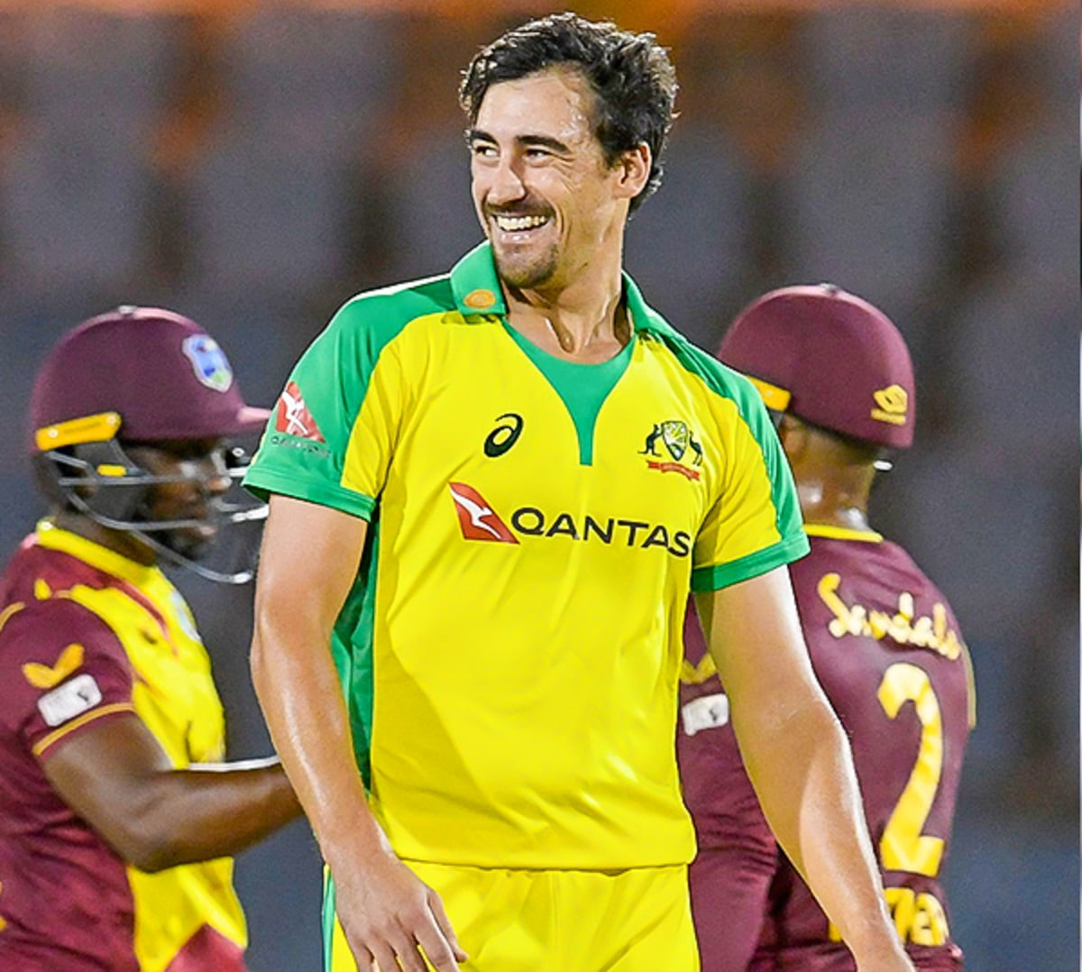 WI vs AUS - Match suspended due to Covid-19