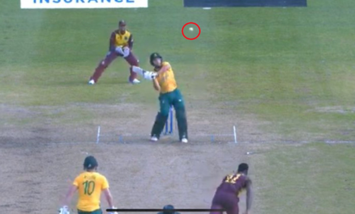 Cricket Image for Wi Vs Sa T20i Shocking Decision By Umpire Watch Video