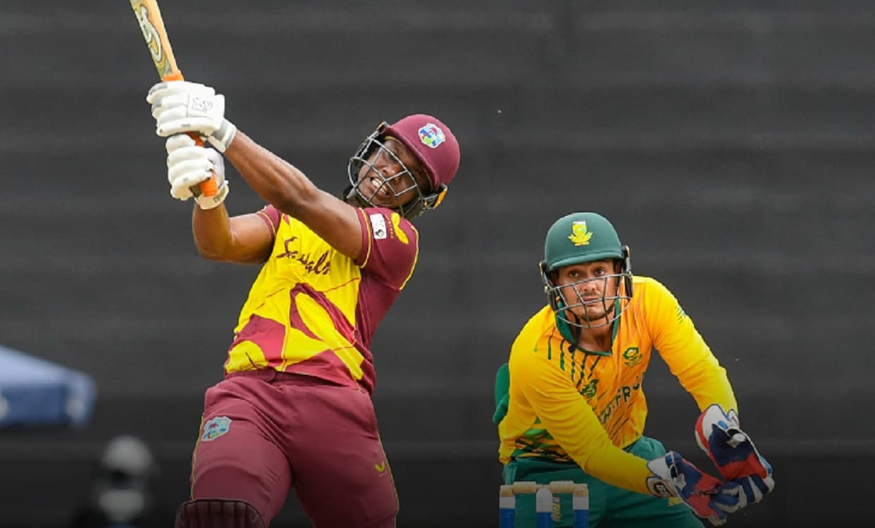 West Indies become the first team to hit 50+ sixes in a T20I bilateral series