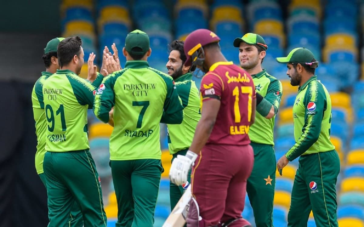 Rain washes off first T20I between West Indies and Pakistan