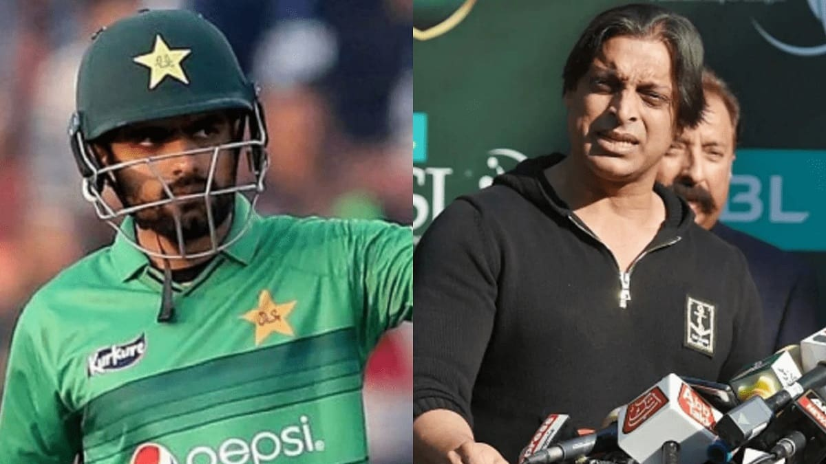 You should ask him who is a star- Babar Azam responds to Shoaib Akhtar's comments