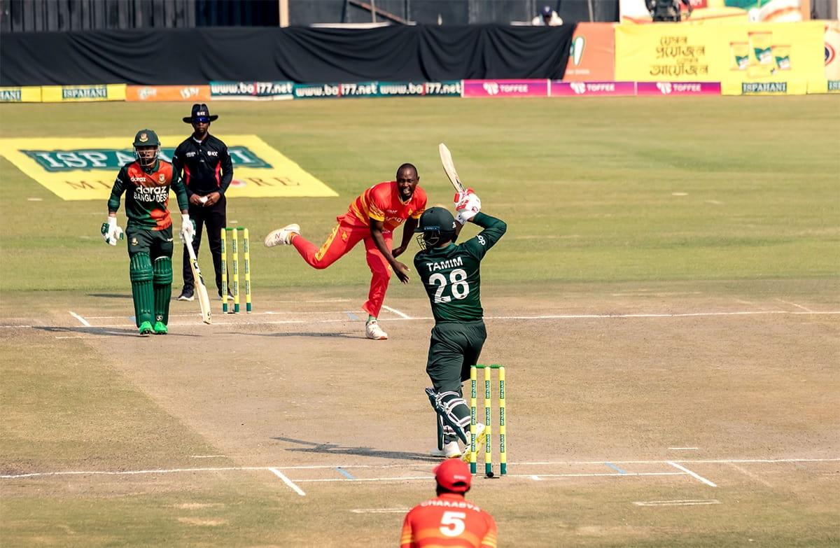ZIM vs BAN - Zimbabwe beat Bangladesh by 5 wickets