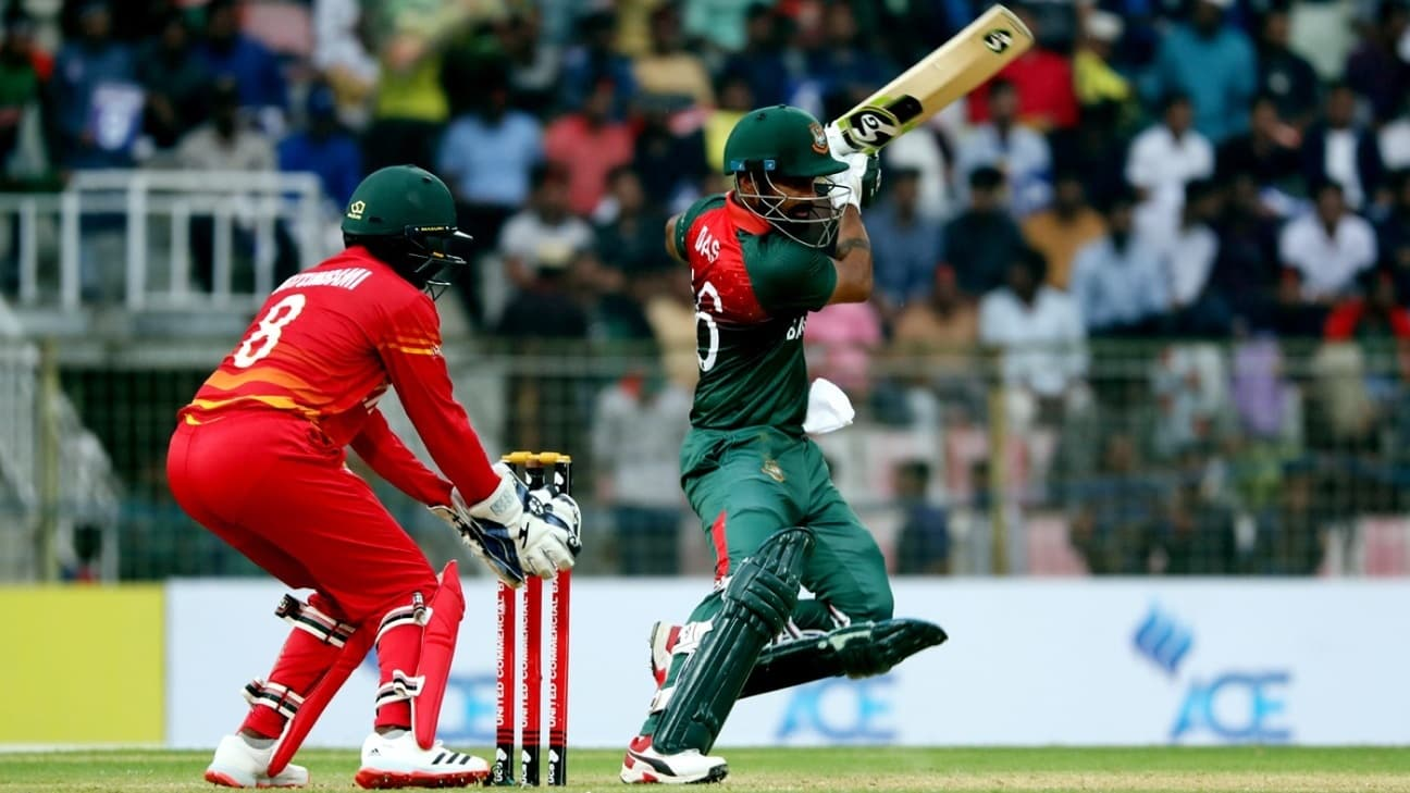 ZIM vs BAN - Zimbabwe win the toss and elect to bat first in 2nd ODI