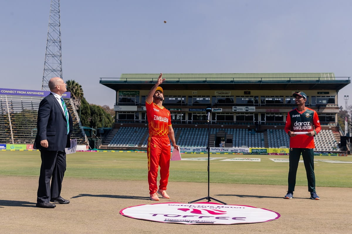 ZIM vs BAN: Zimbabwe win the toss and elect to bat first in 3rd t20i