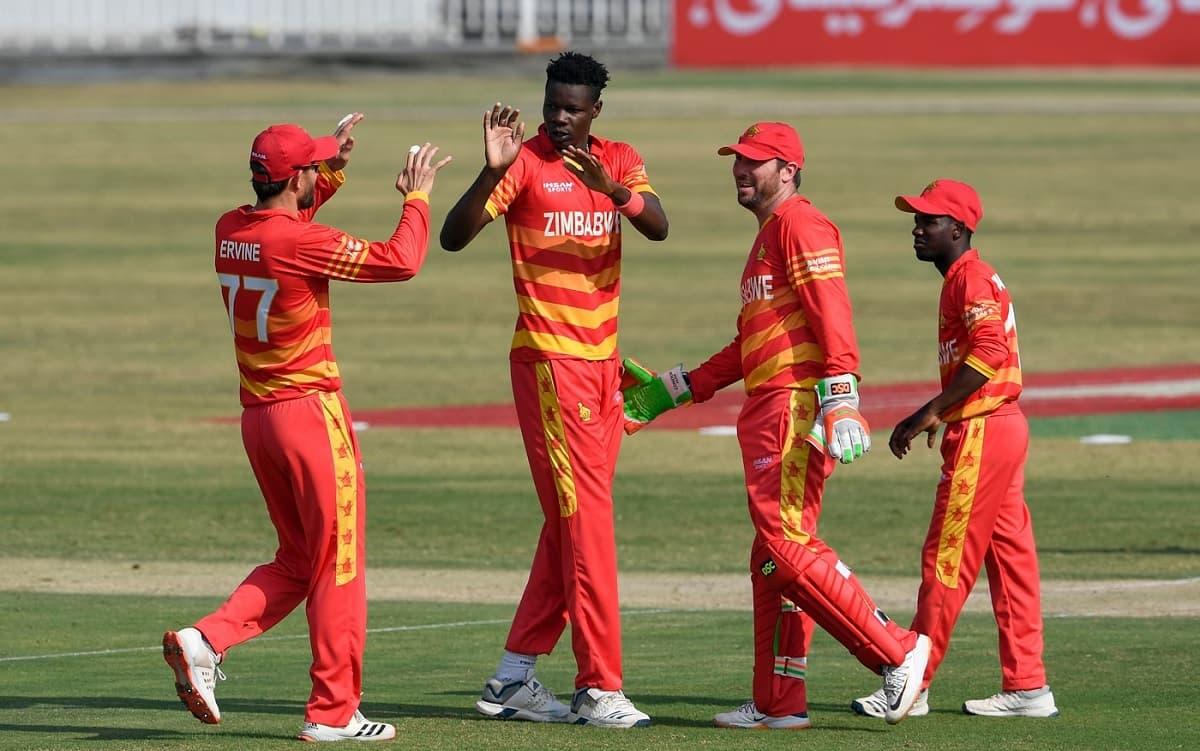 Cricket Image for ZIM vs BAN: जिम्बाब्वे ने तोड़ा ऑस्ट्रेलिया का वर्ल्ड रिकॉर्ड, एक मैदान पर सबसे