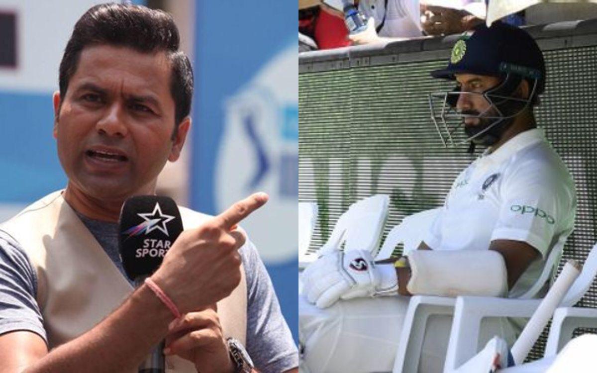 Cricket Image for VIDEO : क्या पहले टेस्ट से बाहर होंगे चेतेश्वर पुजारा ? आकाश चोपड़ा ने दिया सबसे ब