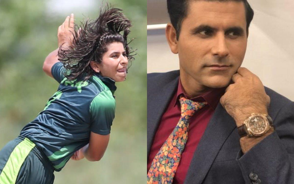 Cricket Image for VIDEO : अब्दुल रज्जाक पर भड़के फैंस, निदा दार को लेकर किया था 'Sexist' कमेंट