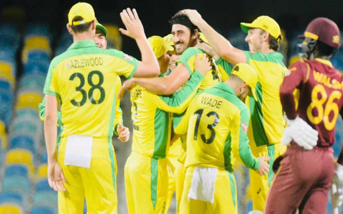 Cricket Image for WI vs AUS: ऑस्ट्रेलिया ने पहले वनडे में वेस्टइंडीज को हराया,  मिचेल स्टार्क रहे जी