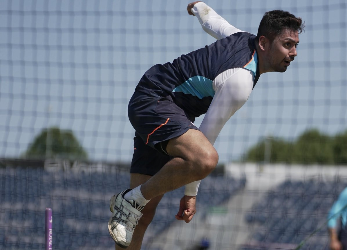 Cricket Image for Avesh Khan Out Of Practice Match After Sustaining Injury