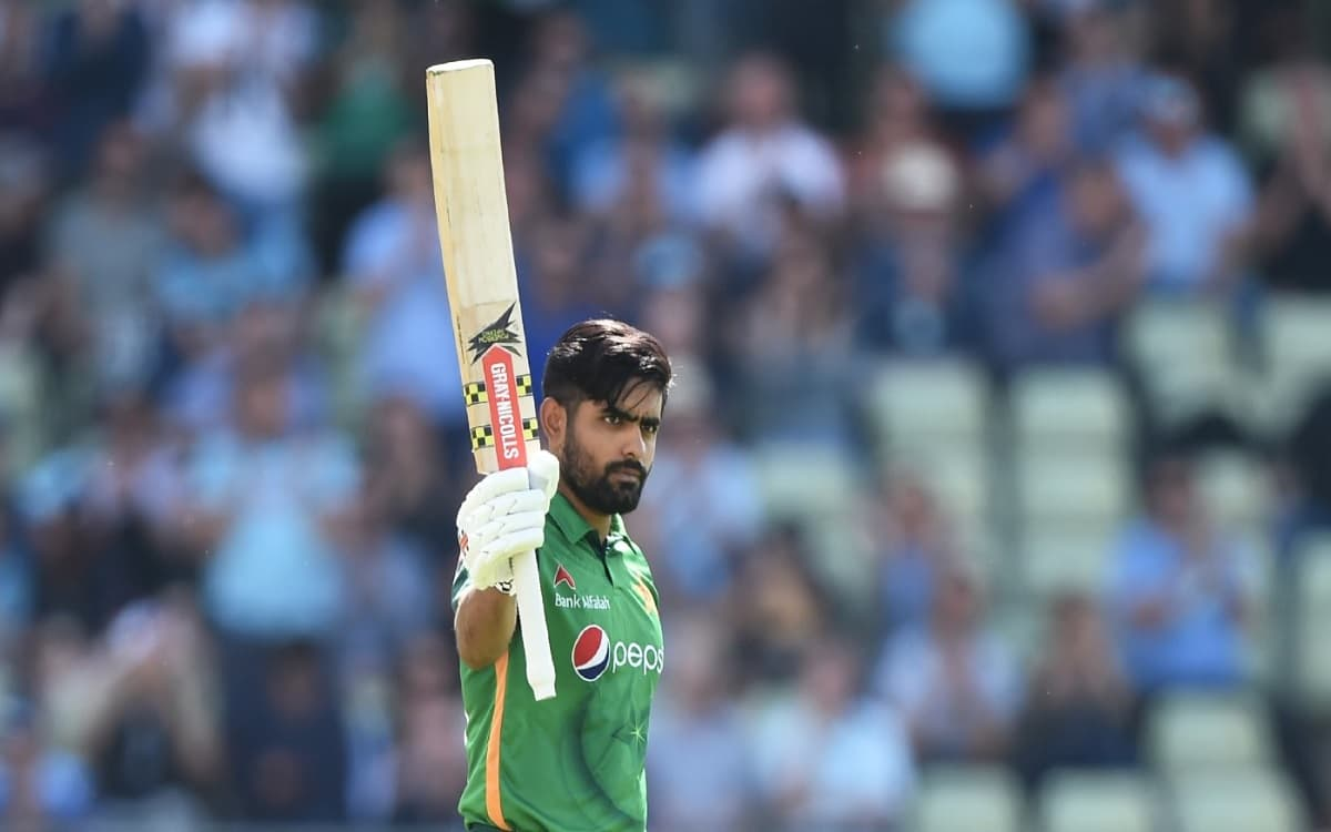 Cricket Image for Babar Azam Created Record With A Stormy Innings In T20 International After Virat K