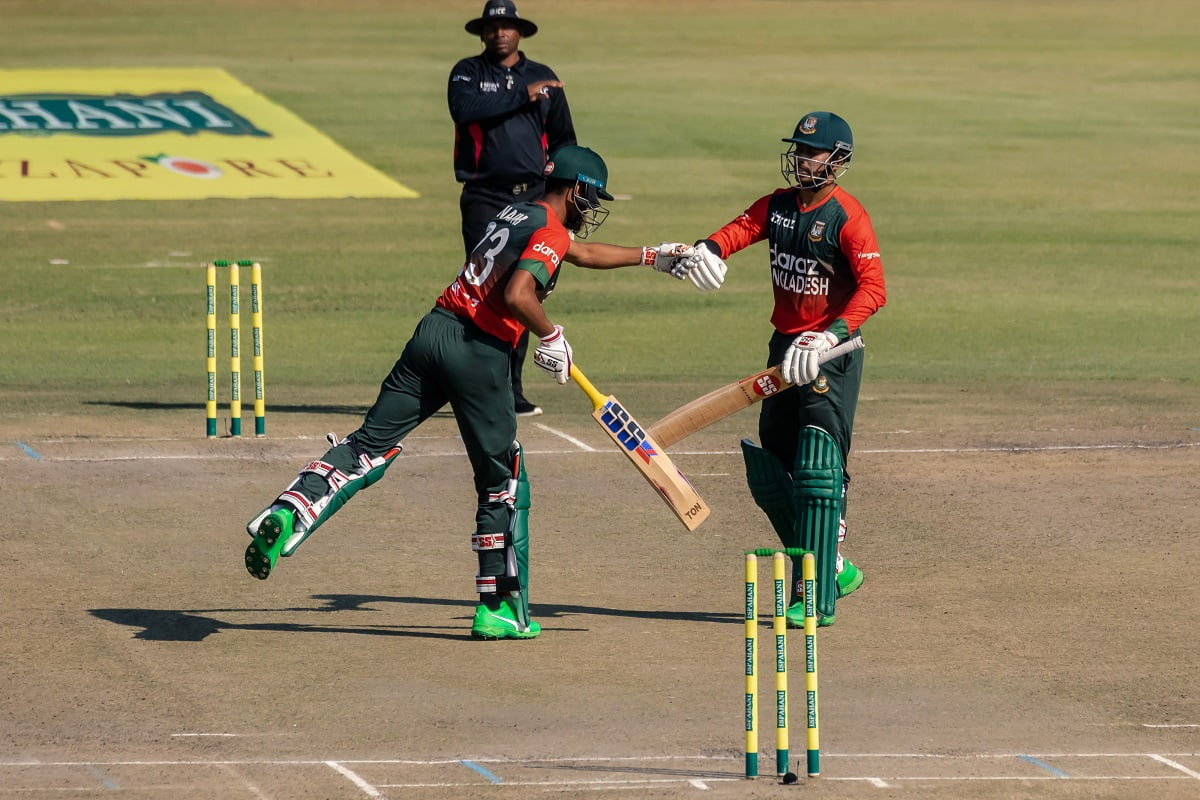 Cricket Image for Bangladesh Beat Zimbabwe By 8 Wickets In 1st T20I