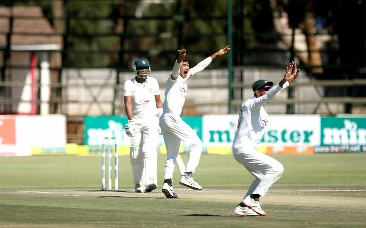 Cricket Image for ZIM vs BAN: Excellent Performance Of Bangladeshi Bowlers Bundled Zimbabwes First I