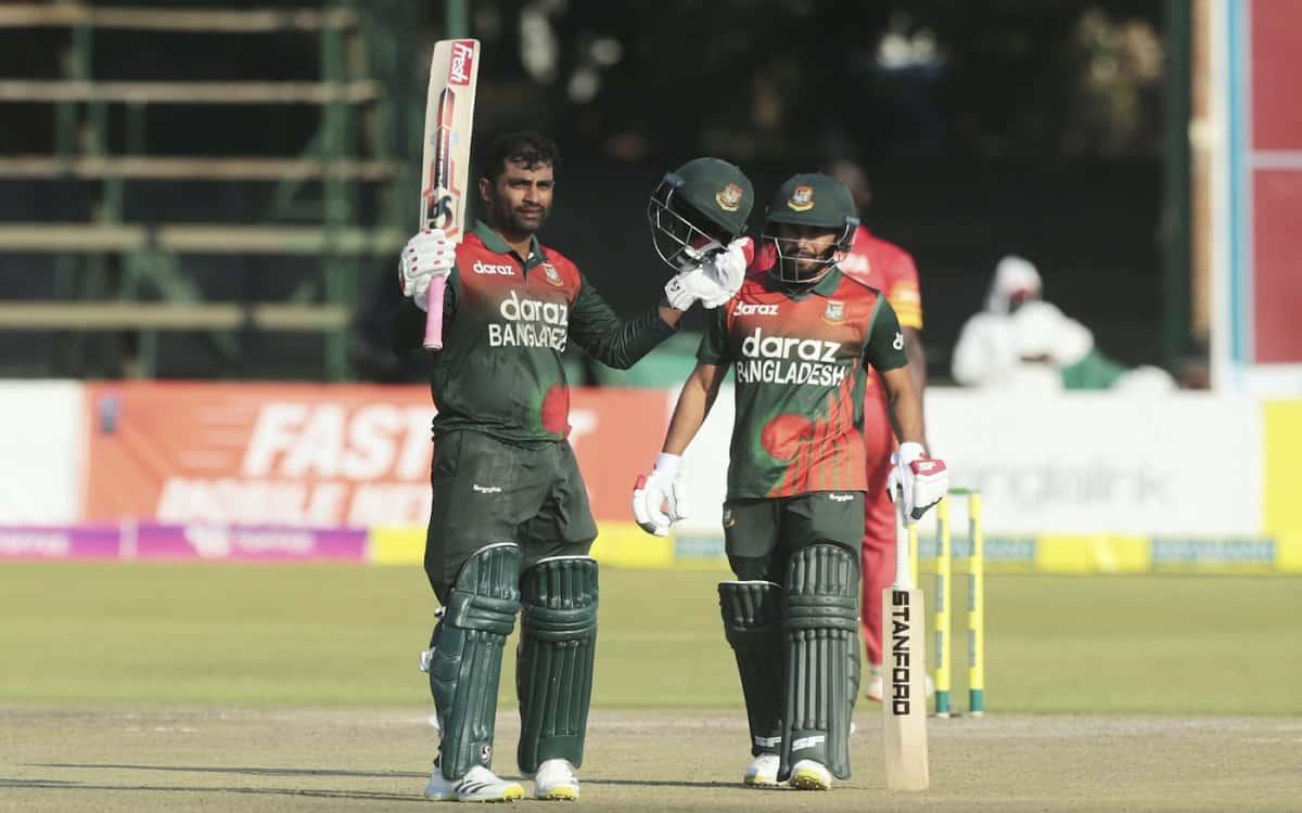 Cricket Image for ZIM vs BAN: Bangladesh's Tamim Iqbal Defies Pain To Set Up Zimbabwe ODI Whitewash