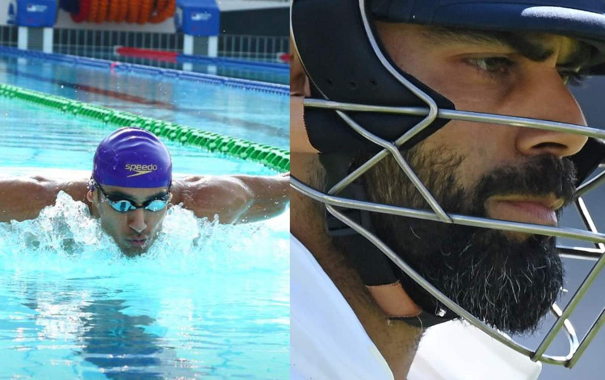 Cricket Image for 'BCCI Should Consider Dropping Virat': Swimmer Khade Shuts Up Troll