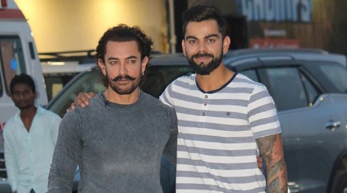 Cricket Image for Bollywood Actor Aamir Khan Divorced Old Interview With Virat Kohli Went Viral