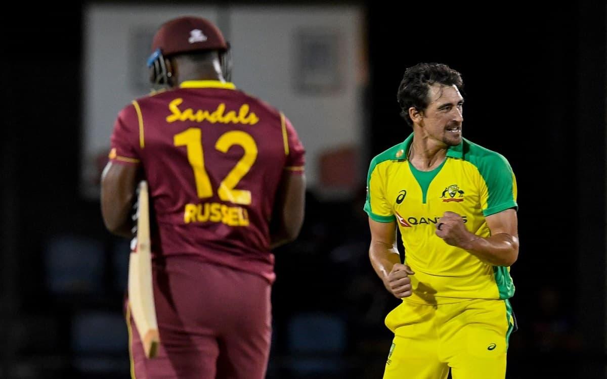 Cricket Image for मैच के आखिरी ओवर में गेंदबाज मिचेल स्टार्क ने किया कमाल, विकेट ना लेकर भी ऑस्ट्रेल