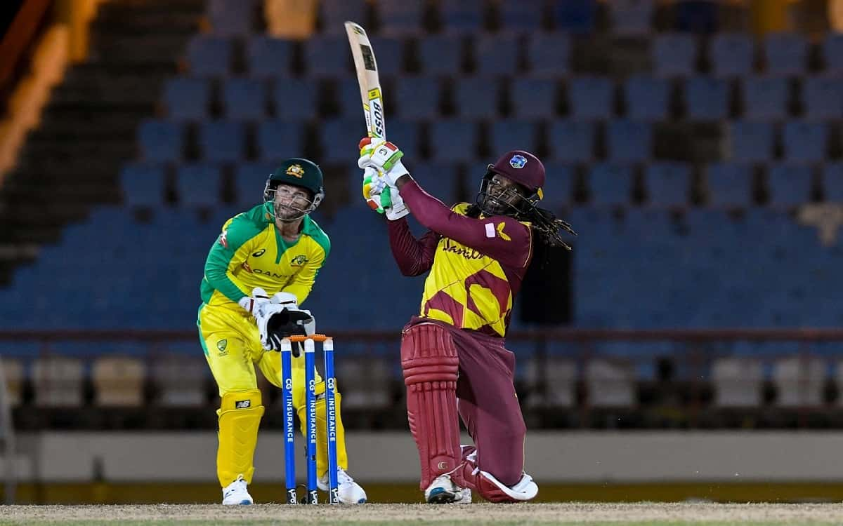 Cricket Image for Chris Gayle Proved That Age Is Just A Number By Playing Agressive Batting In T20 C