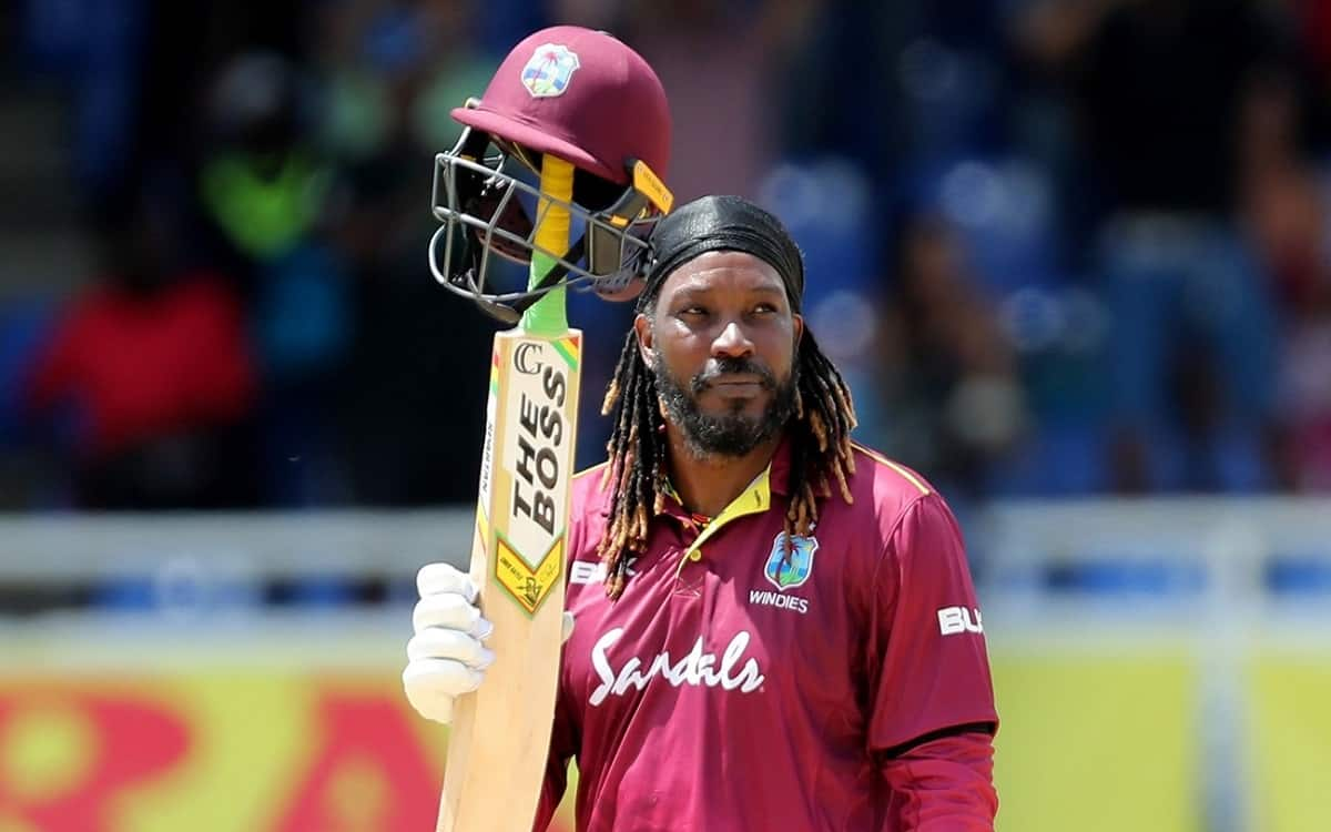 Cricket Image for Chris Gayle Is Just 46 Runs Away From Making A Great Record To Score 14000 Runs In
