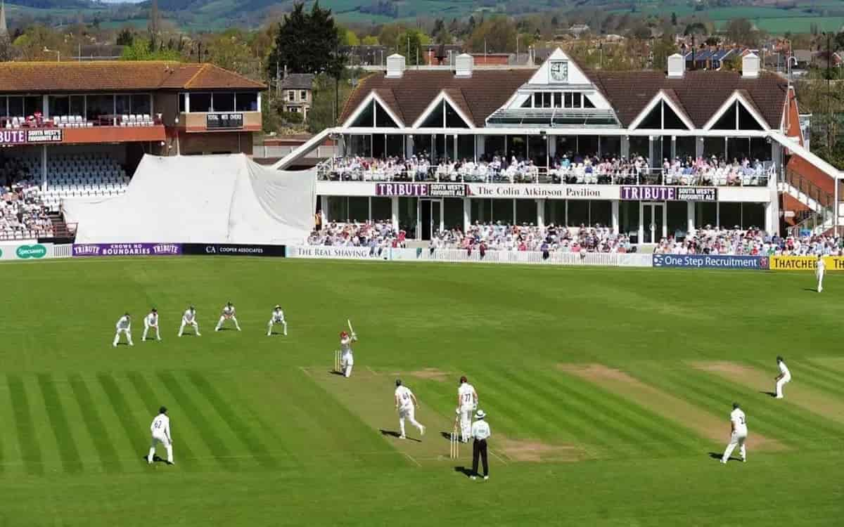 Cricket Image for County Match Between Derbyshire And Essex Canceled Because Of One Member Of The Te