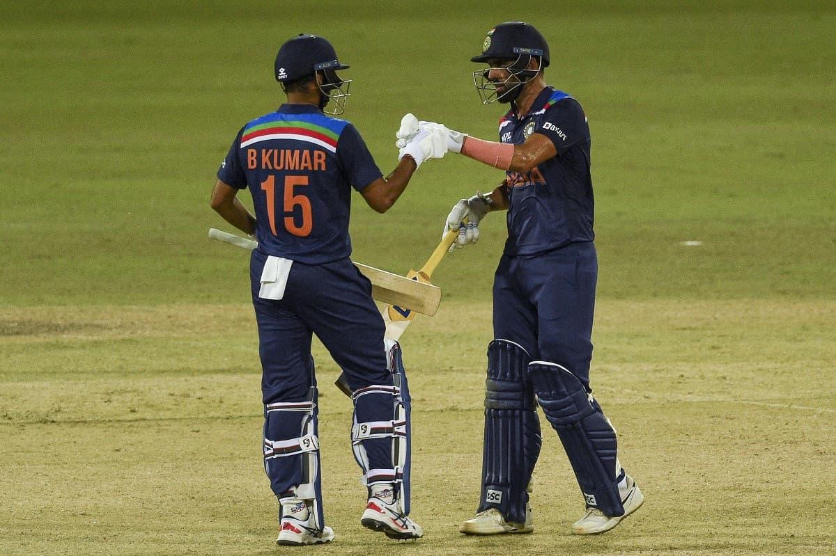 Cricket Image for Deepak Chahar Stars In India's Thrilling Win Over Sri Lanka In 2nd ODI