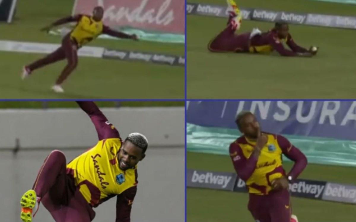 Cricket Image for 'वही फिंच और वही एलेन', 96 घंटों के अंदर फेबियन एलेन ने पकड़े 2 करिश्माई कैच; देखे