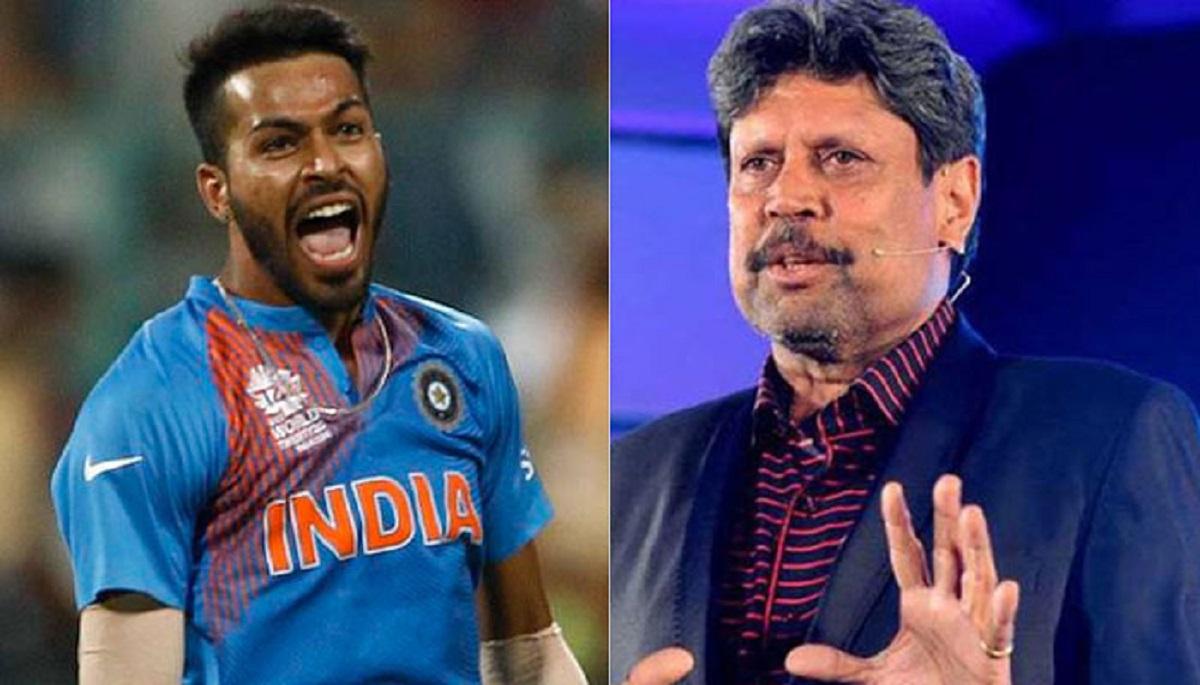 Cricket Image for Former Indian Captain Kapil Dev Took A Jibe At Hardik Pandya
