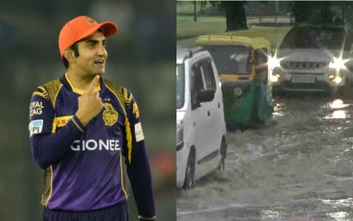 Cricket Image for Former Indian Cricketer Gautam Gambhir Slams Delhi Cm Arvind Kejriwal