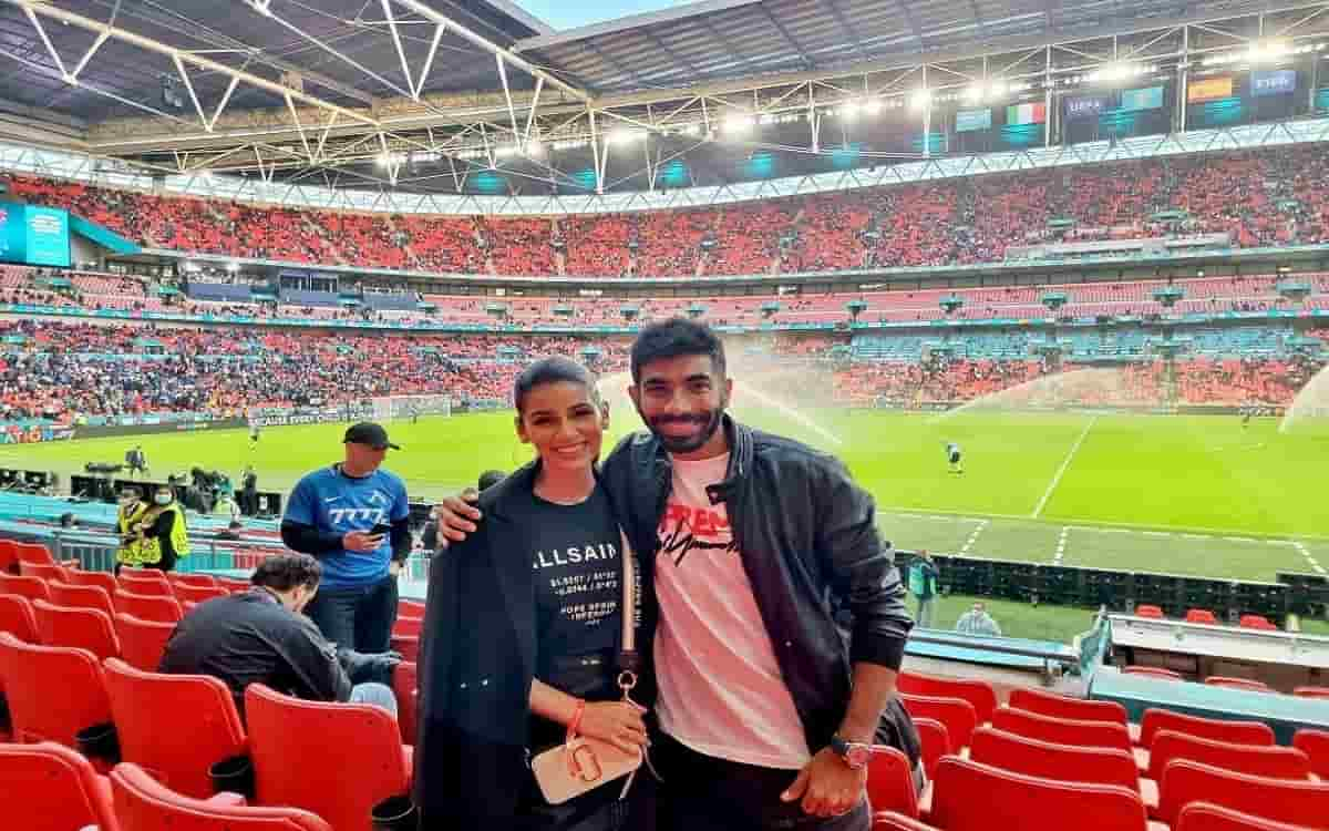 Cricket Image for Fun Of Indian Cricketers Continues In England Before Test Series While Jasprit Bum