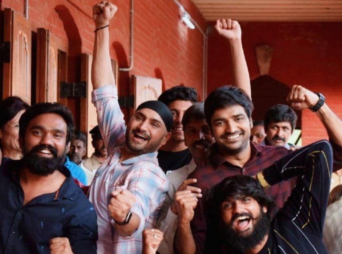 Cricket Image for Harbhajan Singh Finishes Shooting Of Debut Film 'Friendship'
