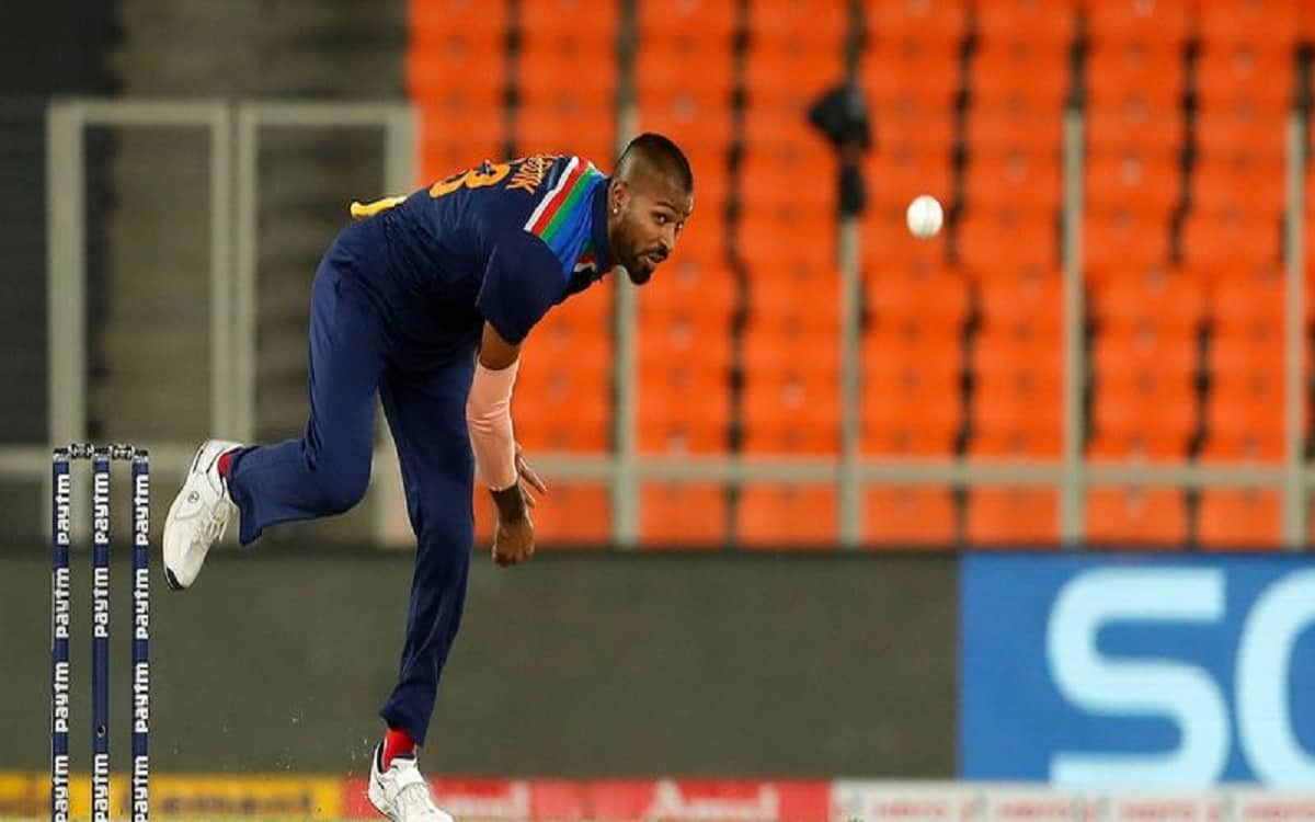 Cricket Image for Hardik Pandya Returned To The Path Of Bowling Showed His Strength In Intra Squad M