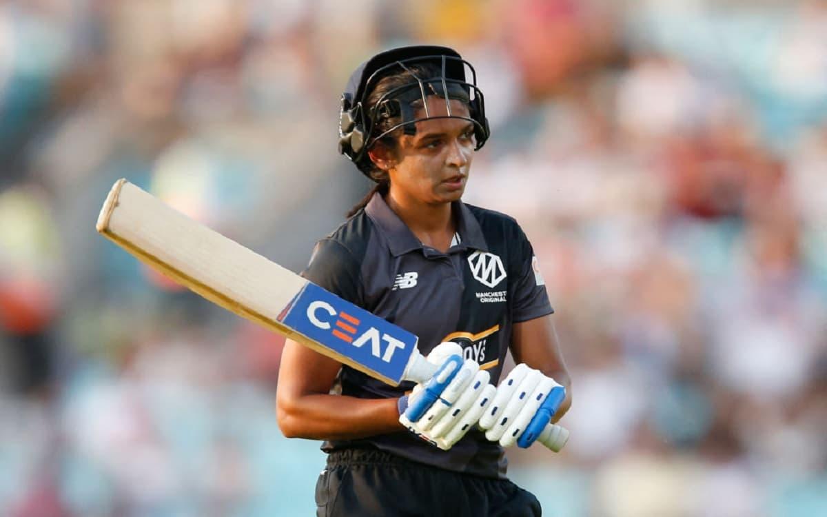 Cricket Image for द हंड्रेड: हरमनप्रीत कौर ने 180 के स्ट्राइक रेट से ठोके रन, लेकिन टीम हारी