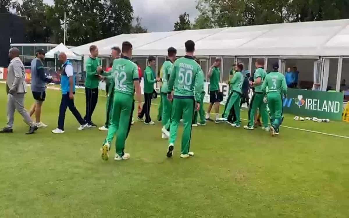 Cricket Image for आयरलैंड के तीन खिलाड़ियों पर गिरी गाज, ICC ने लगाया जुर्माना
