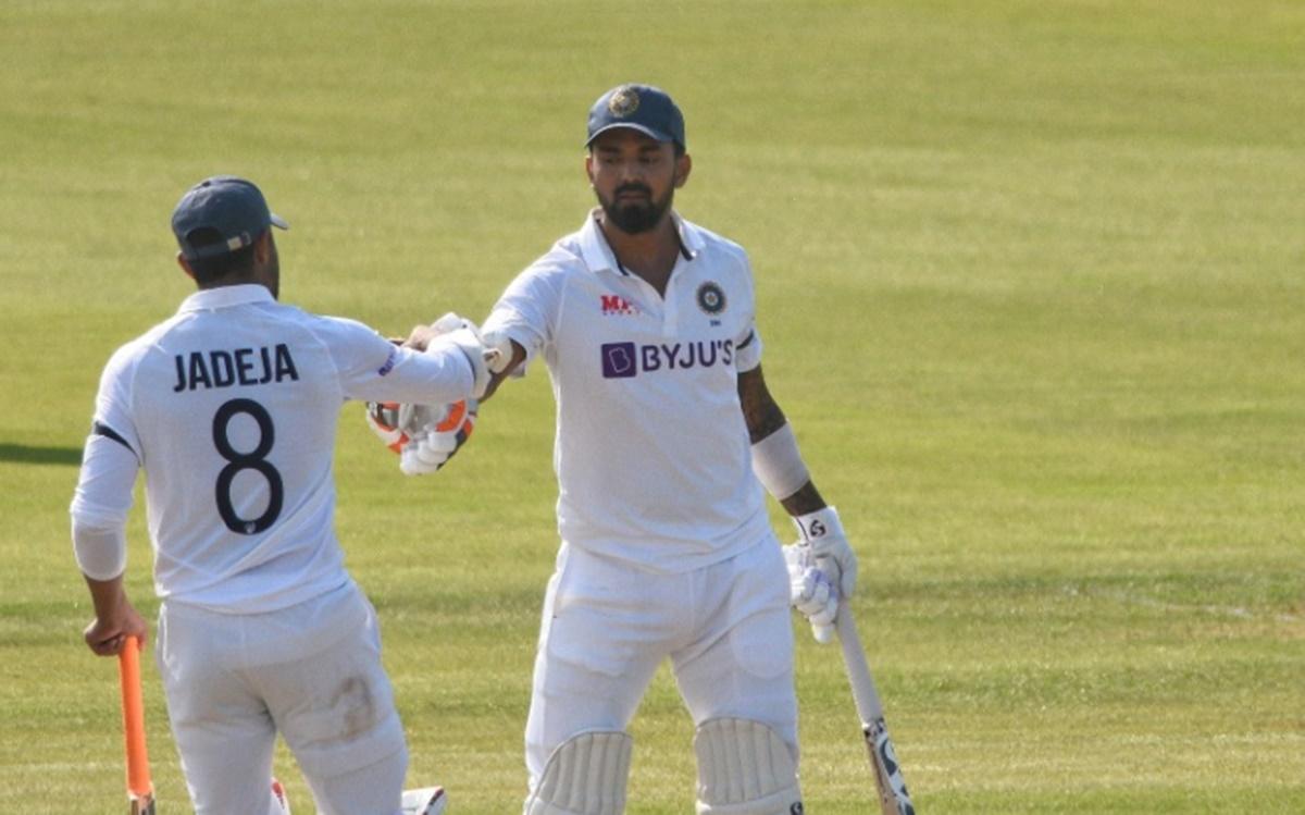 Cricket Image for प्रैक्टिस मैच में टीम इंडिया का जलवा, इन दो खिलाड़ियों की साझेदारी से पहले दिन बना