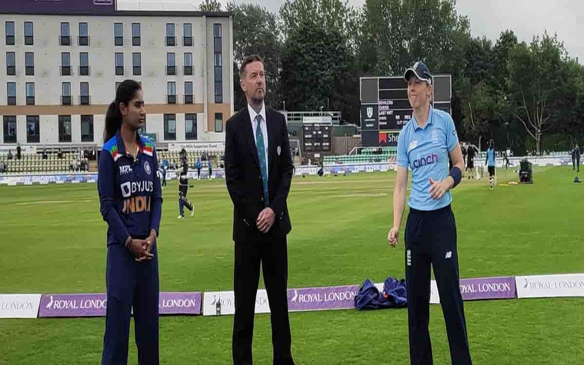 Cricket Image for Indian Womens Team Won The Toss And Decided To Bowl Against England See Playing El