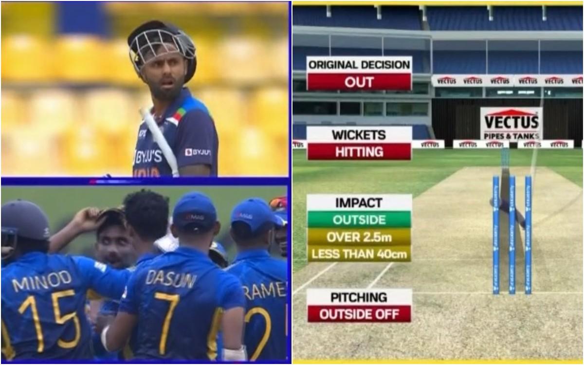 Cricket Image for लाइव मैच में थर्ड अंपायर हुआ कन्फयूज़, सूर्यकुमार यादव के साथ हुआ हाई वोल्टेज ड्रा