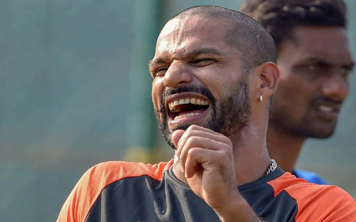 Cricket Image for Indian Captain Shikhar Dhawan Stated We Dont Care About Arjun Ranatungas Second St