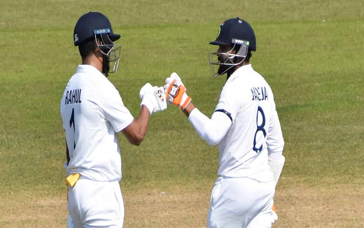 Cricket Image for Warm-up: Rahul's Ton, Jadeja's 75 Take Indians To 306/9 On Day 1