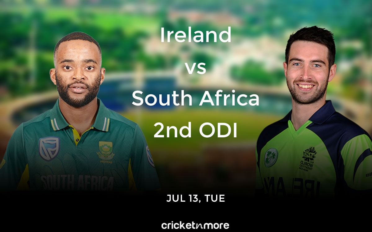 Cricket Image for Ireland vs South Africa, 2nd ODI – Match Prediction, Fantasy XI Tips & Probable XI
