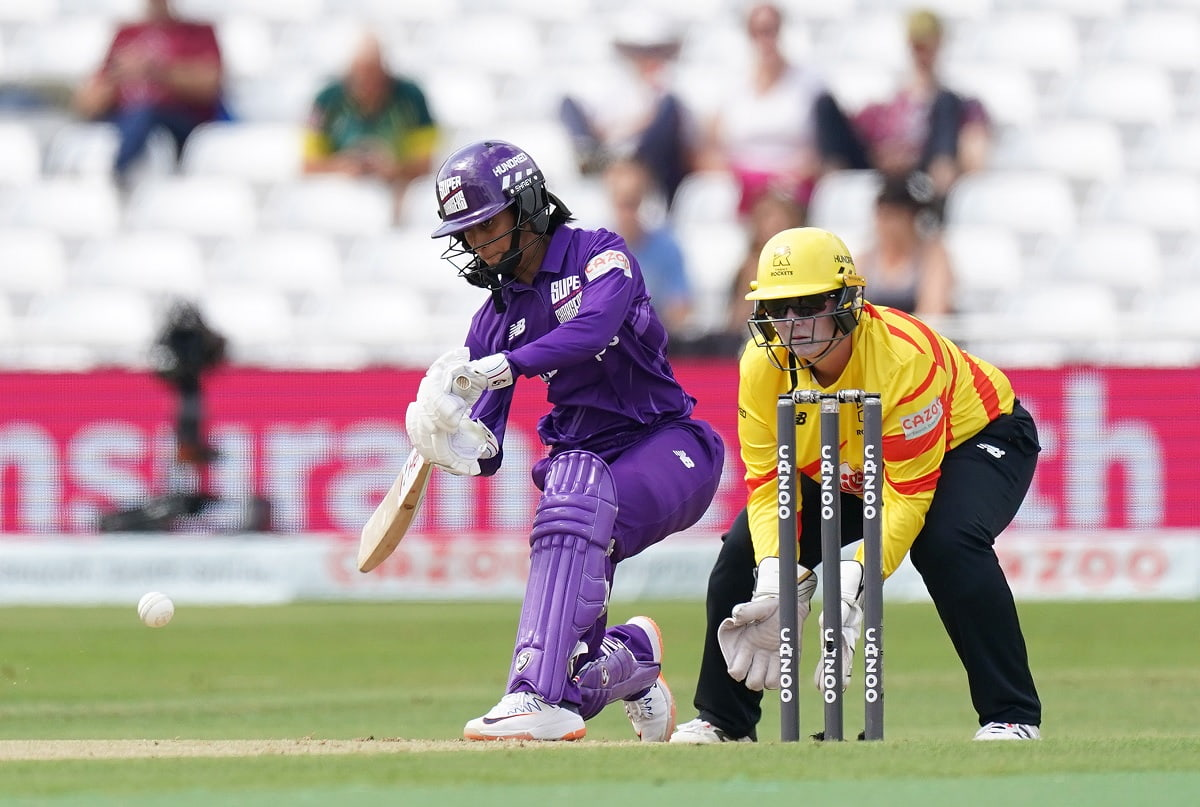 Watch Highlights: Jemimah Rodrigues Slams Yet Another Fifty In The Hundred
