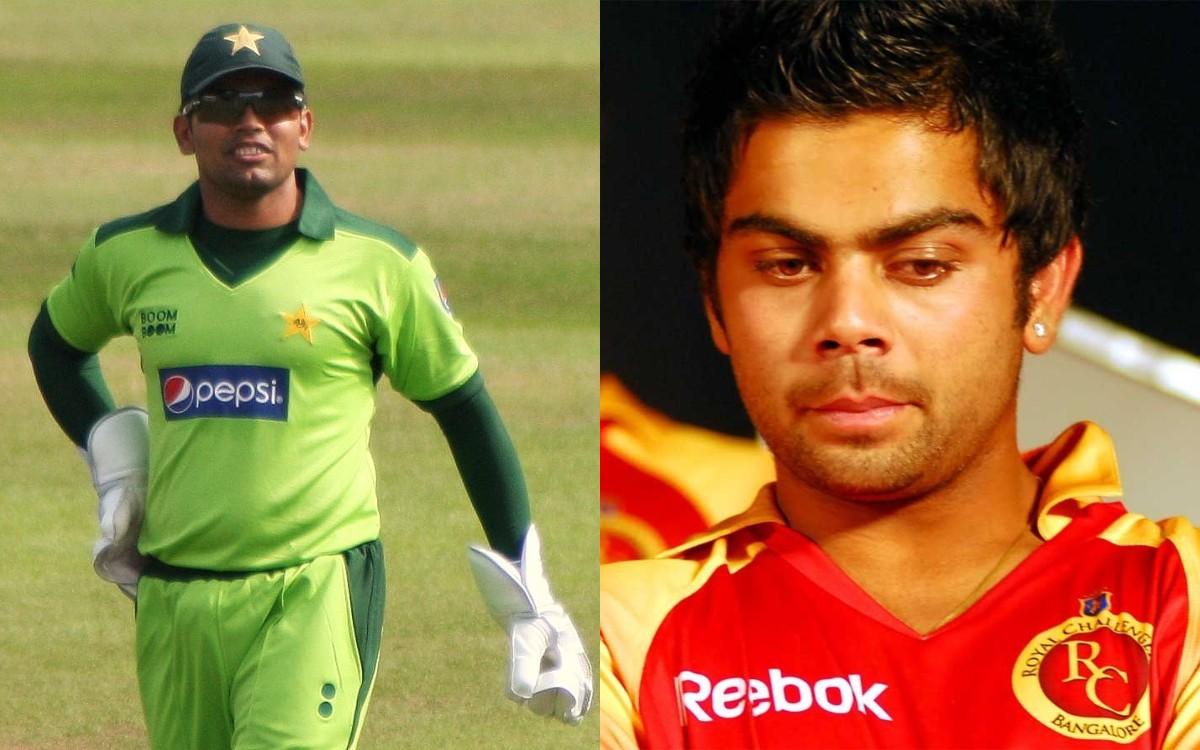 Cricket Image for VIDEO : IPL 2008 को लेकर कामरान अकमल का बड़ा खुलासा, विराट को देखकर कहा था- 'ये क्