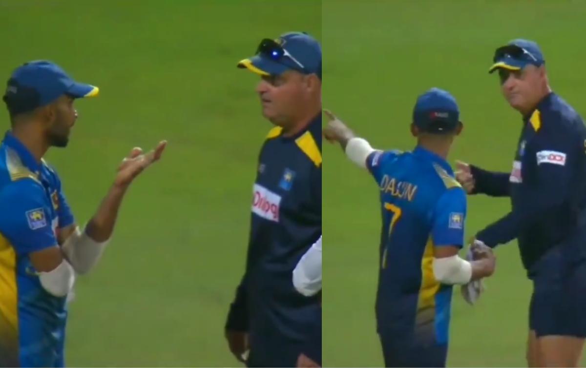 Cricket Image for Mickey Arthur, Dasun Shanaka Involved In Heated Argument After Sri Lanka's Loss Ag