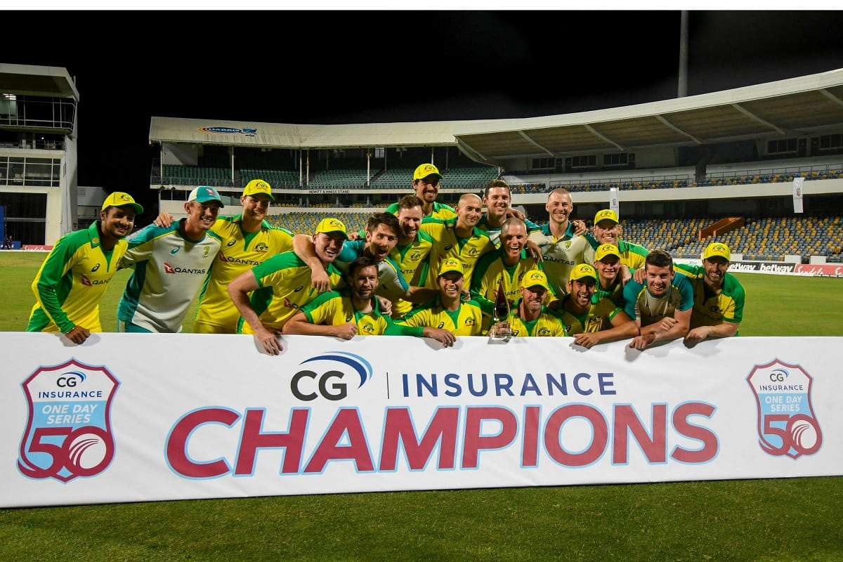 Cricket Image for Australia Beat West Indies By 6 Wickets, Clinch ODI Series 2-1