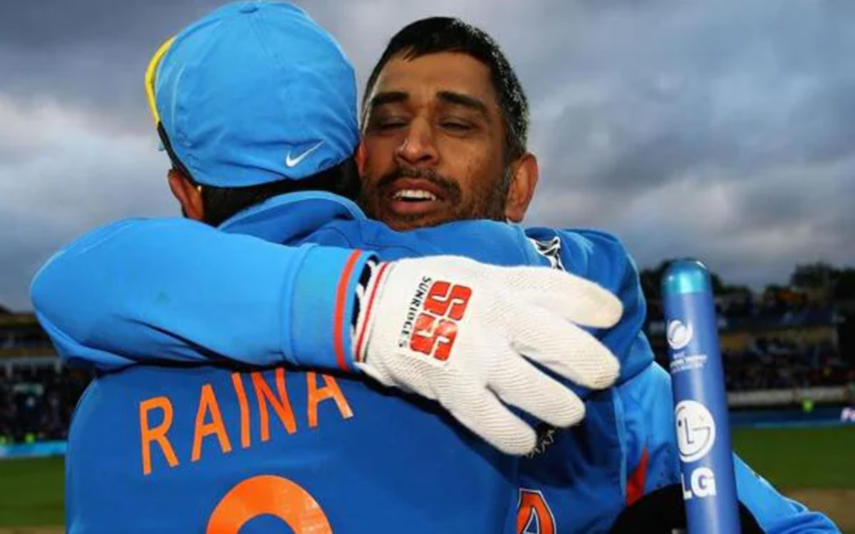 Cricket Image for Csk Player Suresh Raina Says If Ms Dhoni Doesnot Play Next Year I Will Also Not Pl