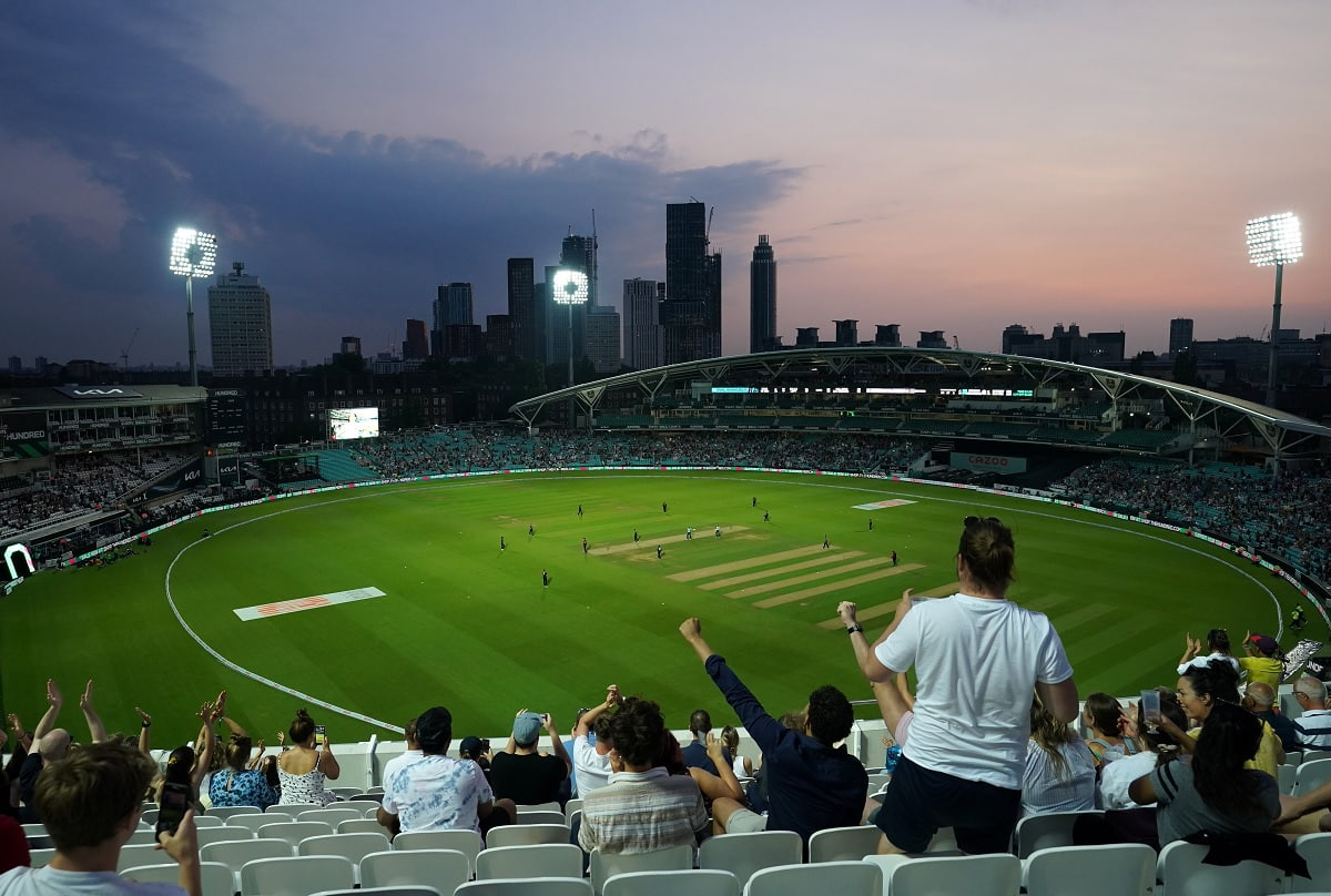 Cricket Image for New Hundred Tournament Launches To Fanfare And Flames