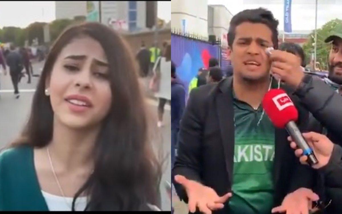 Cricket Image for VIDEO : 'पाकिस्तान ने हमें कहीं का नहीं छोड़ा', एक और पाकिस्तानी फैनगर्ल हुई वायरल
