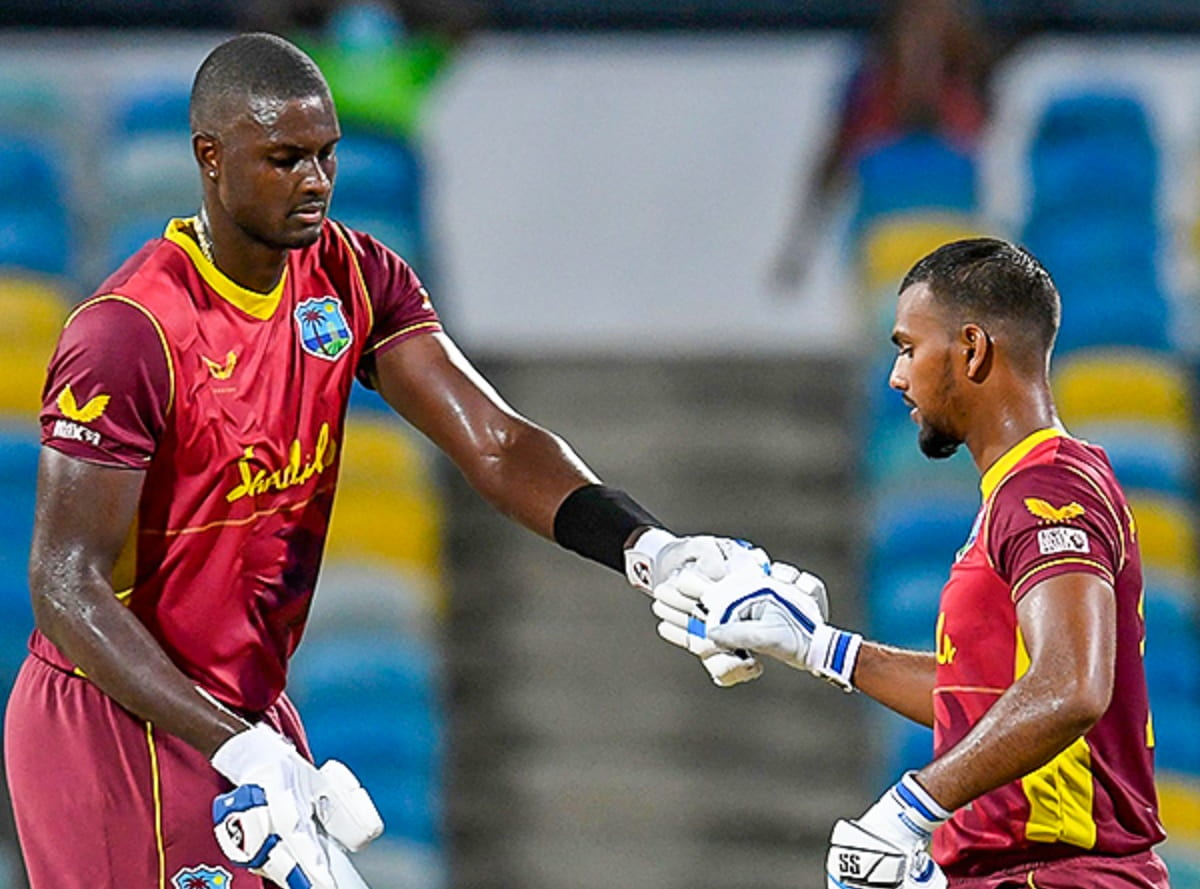 Cricket Image for Pooran, Holder Take West Indies To Series Leveling Win Against Australia In 2nd OD