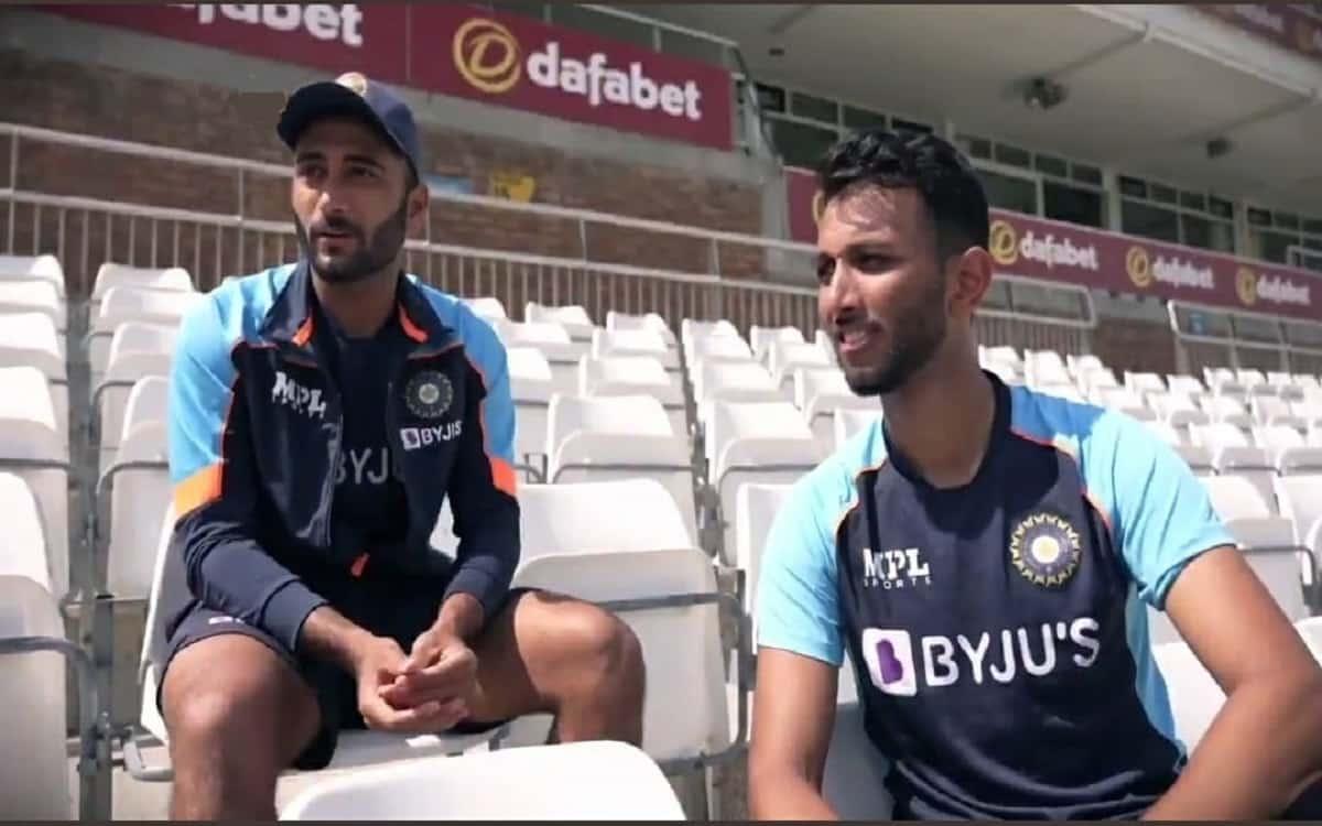 Cricket Image for Prasidh Krishna Breaks The Ice As Arzan Nagwaswalla Finds His Feet