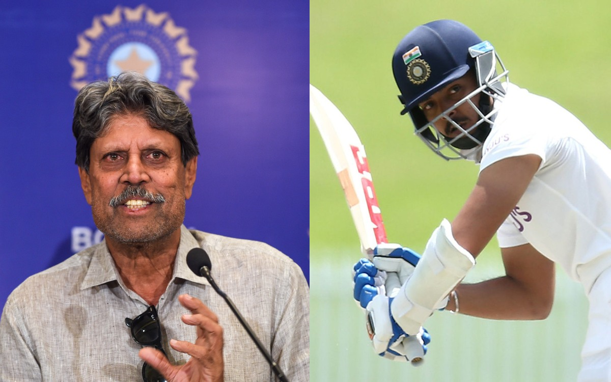 Prithvi Shaw Should Not Be Sent To England Now, Says Kapil Dev On  Cricketnmore