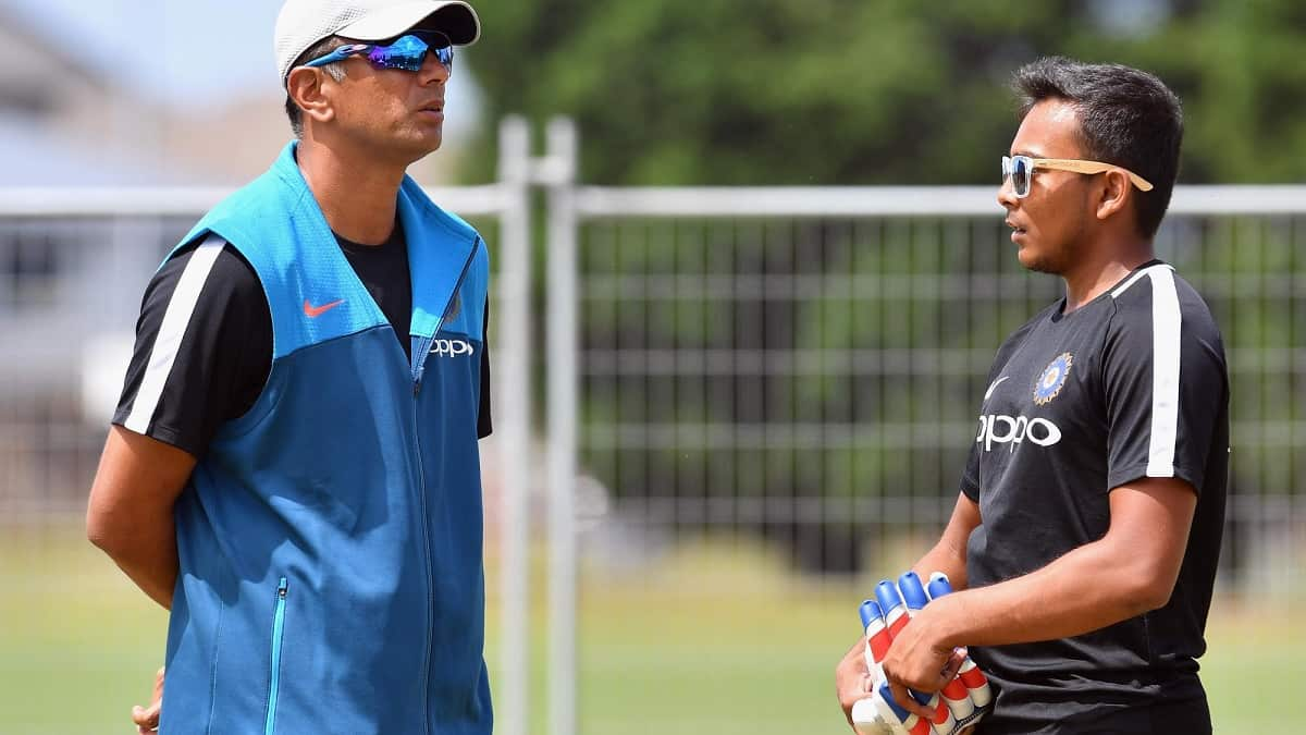 Cricket Image for There Is A Different Kind Of 'Mazaa' Playing Under Rahul Dravid: Prithvi Shaw